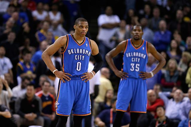 Frustration with Russell Westbrook and the Thunder's failure to develop a more fluid offense were key factors in Kevin Durant's decision.