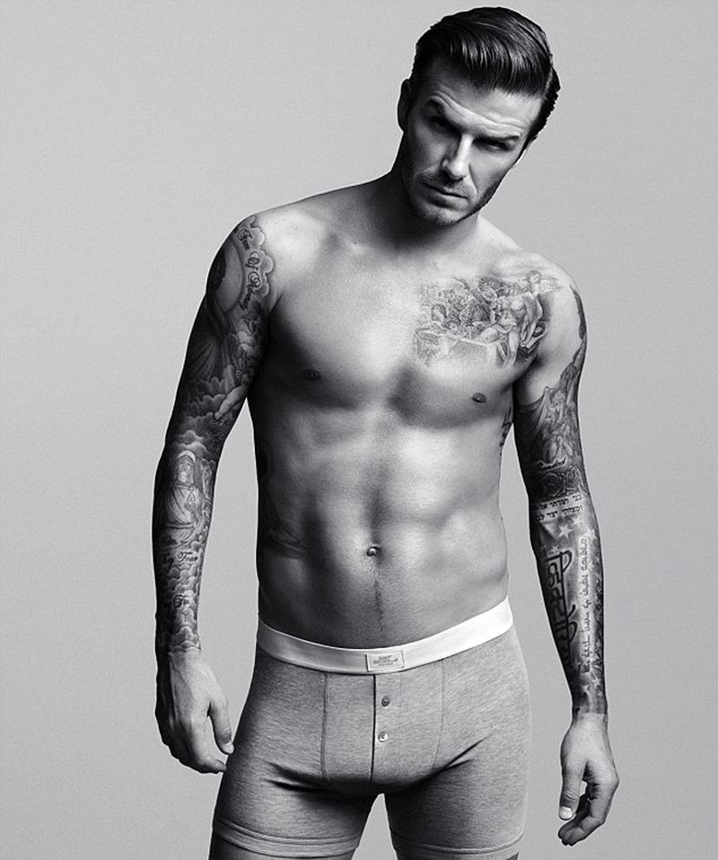 Who said Calvin Klein gets to have all the hunky fun? David Beckham certainly made the case for H&M underwear with this sexy shot. (Photo: H&M)
