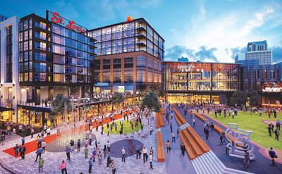 The St. Louis Cardinals and The Cordish Companies are excited to announce three premier concepts for the west end of the $260 million expansion of Ballpark Village – Sports & Social St. Louis, Davio's Northern Italian Steakhouse and Baseballism. The announcement is the first of several announcements for the 75,000 square feet of ground floor dining, entertainment and retail space within the second phase expansion which is currently 92% leased.