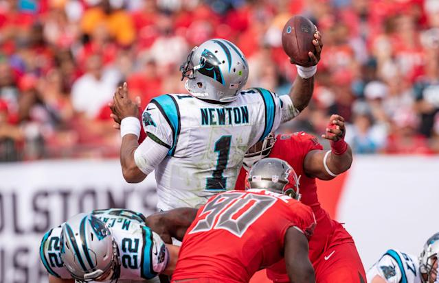 Can Newtown needs to lead the Panthers to a win in Cleveland to maintain their playoff hopes