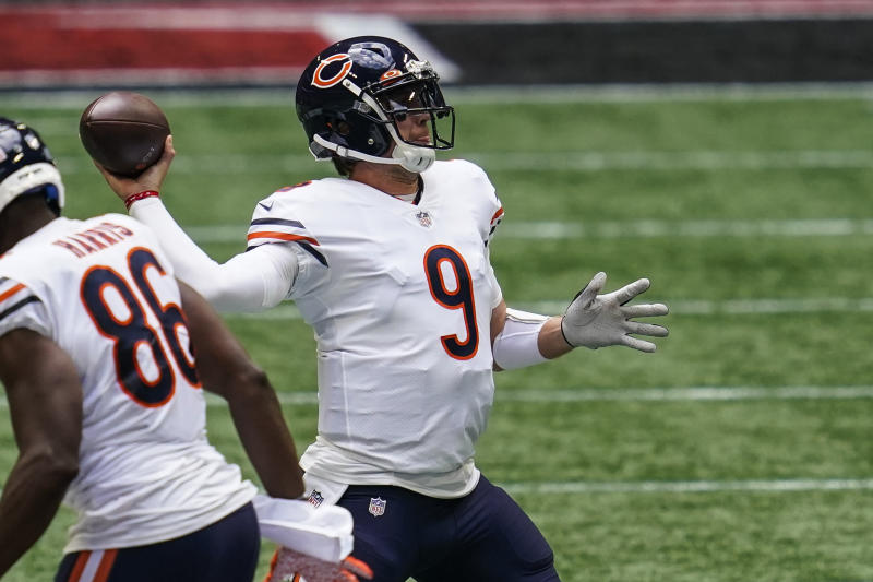 How Bears' Nick Foles stole a win from Falcons and a job from Mitch Trubisky