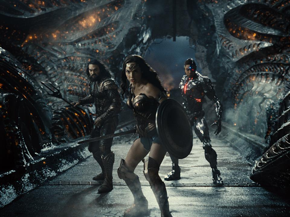Wonder Woman takes centre stage in Zack Snyder's Justice League (Warner Bros)