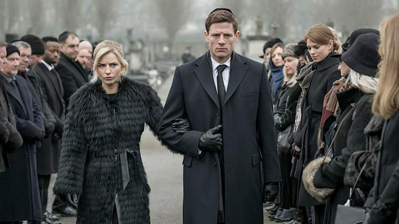 Faye Marsay starred alongside James Norton in Russian crime drama McMafia