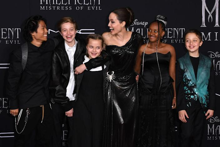<p>Brangelina may be no more, but the family looked happier than ever at a film premiere in September 2019. The kids are all tweens and teens who still make their way across the globe with their famous folks.</p>