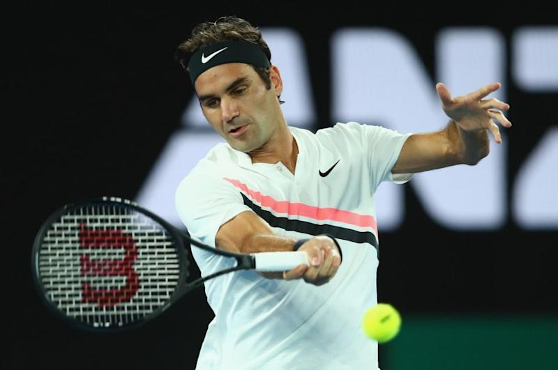 Players like Roger Federer need to eat the right food. Photo: Getty