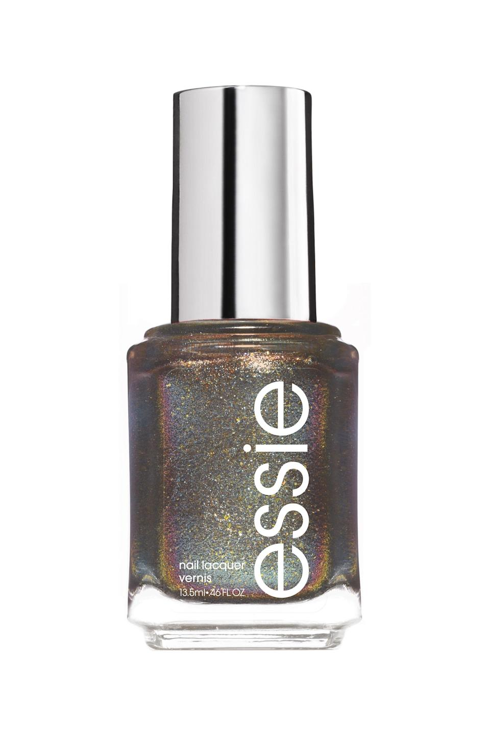 """<p><strong>Essie</strong></p><p>ulta.com</p><p><strong>$100.00</strong></p><p><a href=""""https://go.redirectingat.com?id=74968X1596630&url=https%3A%2F%2Fwww.ulta.com%2Fits-not-youits-mercury%3FproductId%3Dpimprod2010546&sref=https%3A%2F%2Fwww.marieclaire.com%2Fbeauty%2Fnews%2Fg3310%2Fbest-nail-colors-winter%2F"""" rel=""""nofollow noopener"""" target=""""_blank"""" data-ylk=""""slk:SHOP IT"""" class=""""link rapid-noclick-resp"""">SHOP IT</a></p><p>Essie's astrology-themed collection is on to something—mercury may be in retrograde, but that doesn't mean your nails have to face the wrath of weirdness. This dazzling, celestial green hue will dress up your nails in decadence. Pair it with a holiday dress if you want to win best nails at your company party. </p>"""