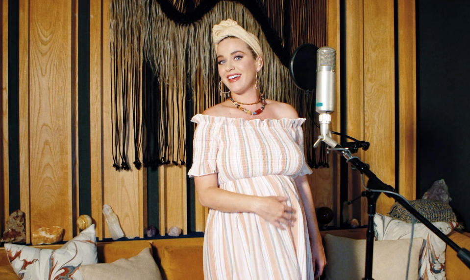 Katy Perry performs during SHEIN Together Virtual Festival to benefit the COVID-19 Solidarity Response Fund for WHO powered by the United Nations Foundation on May 09, 2020. (Photo by Getty Images/Getty Images for SHEIN)