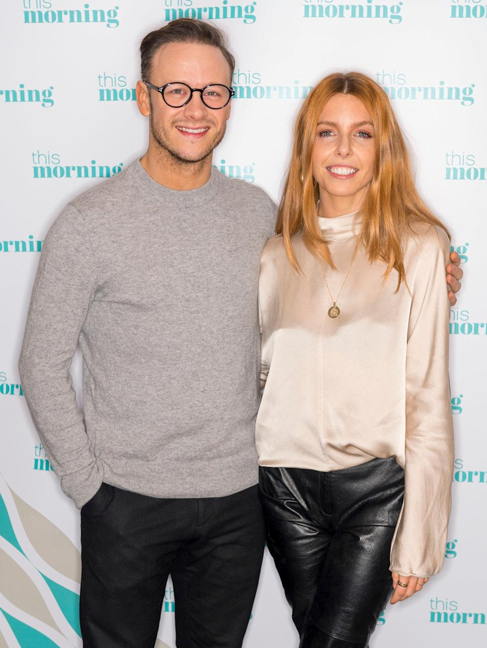 Kevin Clifton and Stacey Dooley  (Photo: Ken McKay/ITV/Shutterstock)