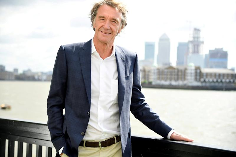 Sir Jim Ratcliffe has a net worth of £21.05billion according to The Sunday Times