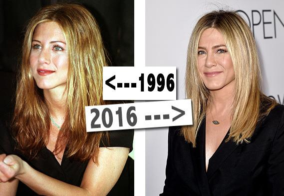 "<p>How does Jen An stay looking so radiant and youthful? Water and sleep. The former 'Friends' star also urges women <a href=""https://www.yahoo.com/beauty/jennifer-aniston-opens-up-on-aging-style-perfect-94103877638.html"">not to use too many products</a>. You heard it here first, ladies. <i>[Photo: PA/Getty/Yahoo Style UK]</i><br /></p>"