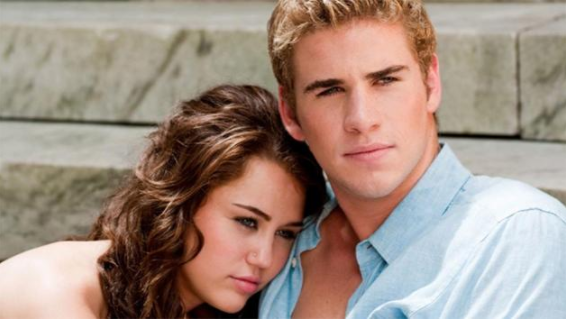 Miley and Liam met on the set of The Last Song. Source: Touchstone