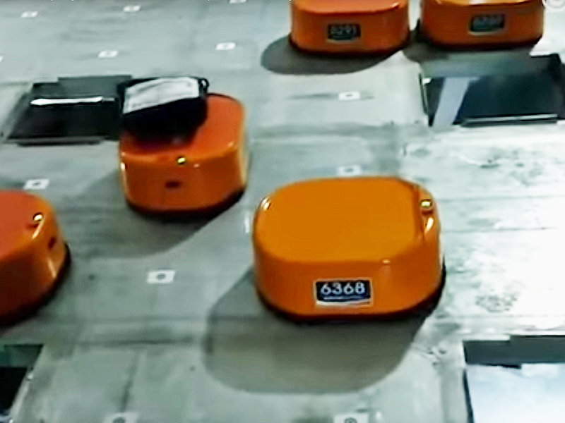 STO Express shares a vision of warehouse automation