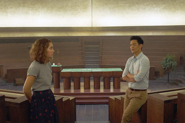 <p><b>Why it's great: </b>An Asian-American man (John Cho) goes to tend to his ailing father in Columbus, Ind., where he develops a unique friendship with a local Caucasian girl (Haley Lu Richardson) who takes him to see the city's many unique architectural wonders. One-name director Kogonada's debut film is an understated, gorgeously composed drama about ambition, responsibility, and seeing the beauty beneath ordinary surfaces.<br><br><b>Nomination it deserves:</b> Best Director — Kogonada<br><br>(Photo: Superlative Films/Courtesy of Everett Collection) </p>