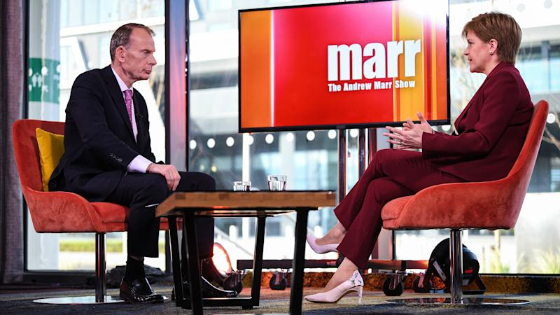 Broadcaster Andrew Marr defends BBC licence fee