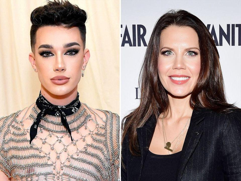 James Charles and Tati Westbrook | Mike Coppola/MG19/Getty/Vogue; Emma McIntyre/Getty