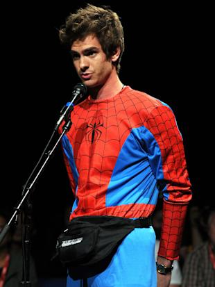 Andrew Garfield at Comic-Con 2011 (Kevin Winter/Getty Images)