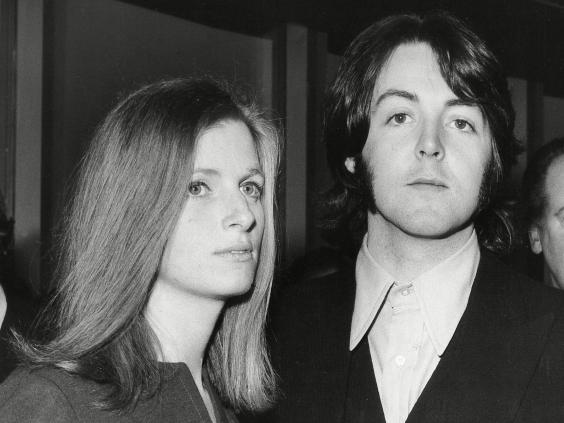 Paul McCartney and future wife Linda attend a music event in 1969 (Monty Fresco/Daily Sketch/Shutterstock)