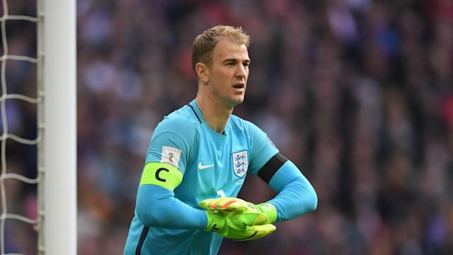 England goalkeeper Joe Hart was modest over his long-term captaincy ambitions after taking the armband in Sunday's 2-0 win over Lithuania.