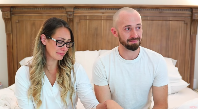 Myka and James Stauffer shocked their fans when they announced that they had given up adopted son Huxley. photo: YouTube/Myka Stauffer
