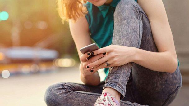 PHOTO: In this undated file photo, a teenage girl is shown using a cell phone. (Getty Images, FILE)