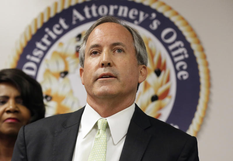 Texas Attorney General Ken Paxton won by a landslide in 2014. On Tuesday, he held onto his seat by 3.6 percentage points. (Associated Press)