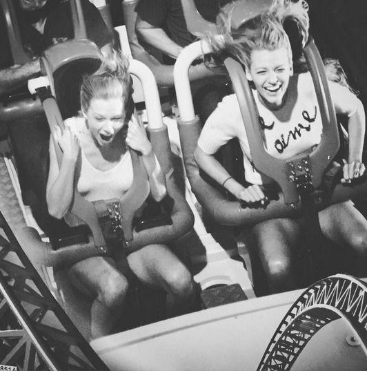 """<p>When these two ladies get together, it's a real screeeeeam. The Shallows actress posted this #friendshipgoals photo in honor of the """"Shake It Off"""" singer's birthday in 2015. They enjoyed the thrill ride — and each other's company — at a Queensland theme park in Australia. (Photo: Instagram) </p>"""