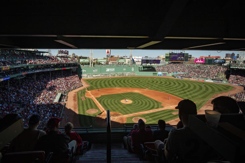 BOSTON, MA - SEPTEMBER 19: A general view during a game between the Boston Red Sox and the San Francisco Giants on September 19, 2019 at Fenway Park in Boston, Massachusetts. (Photo by Billie Weiss/Boston Red Sox/Getty Images)