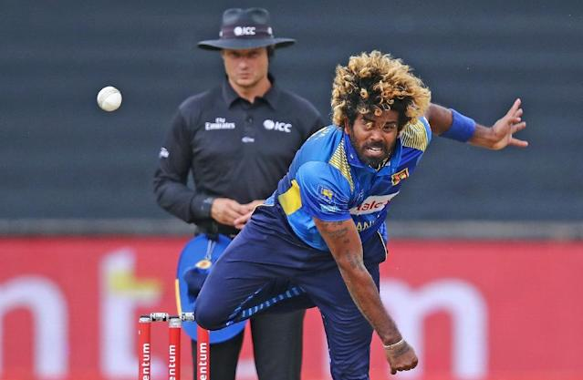 Lasith Malinga will spearhead Sri Lanka's pace attack at the World Cup (AFP Photo/Anesh Debiky)