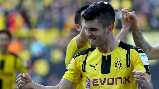 The American midfielder was on the bus that was involved in Tuesday's incident ahead of BVB's Champions League first leg against Monaco