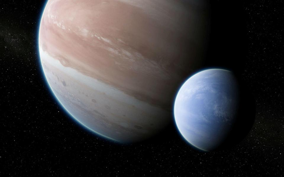 The moon is the size of Neptune (Hubble)