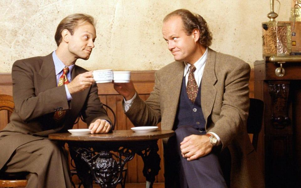 Two PhDs in a pod: Niles and Frasier