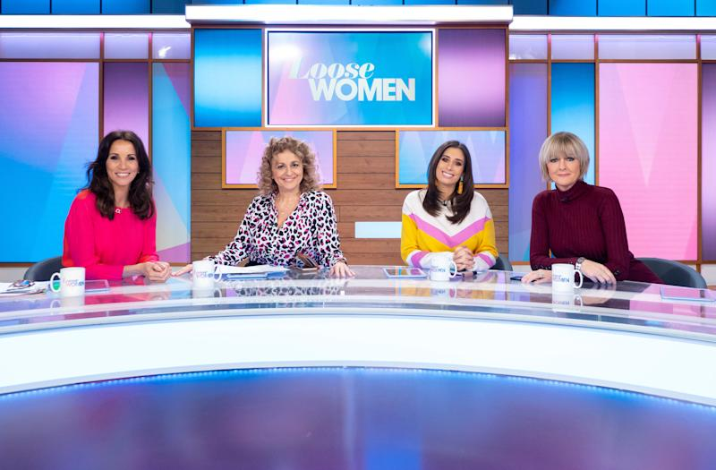 Loose Women is returning to ITV from Monday. (ITV)