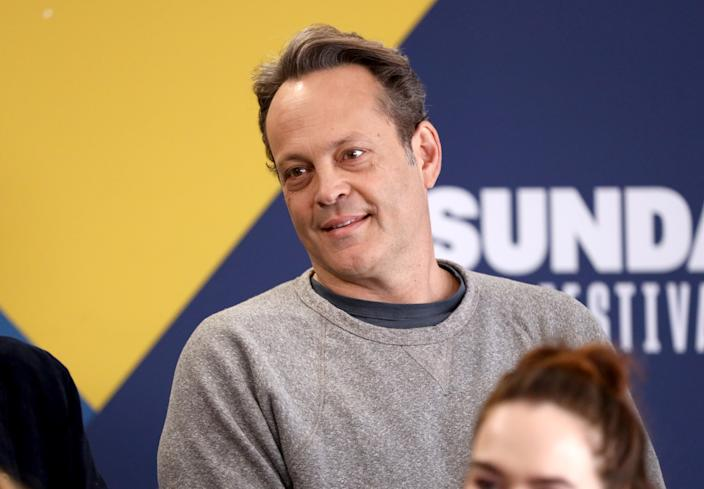 Vince Vaughn of 'Fighting With My Family' attends the 2019 Sundance Film Festival. (Photo by Rich Polk/Getty Images for IMDb)