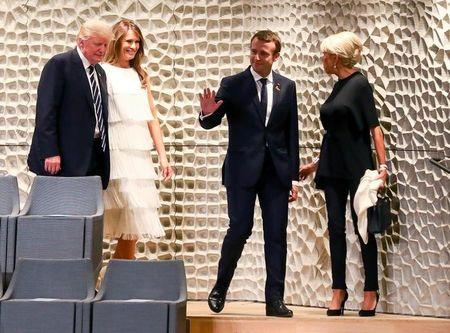 Macron will keep pressing Trump on climate