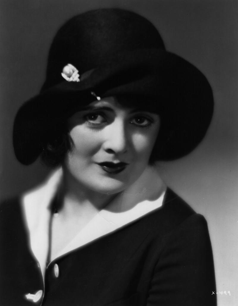 circa 1923: Molly O'Day, the American actress who featured in First National Pictures. (Photo by Hulton Archive/Getty Images)