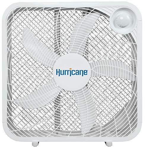 """<p><strong>Hurricane</strong></p><p>amazon.com</p><p><strong>$35.00</strong></p><p><a href=""""https://www.amazon.com/dp/B06XGSJ94B?tag=syn-yahoo-20&ascsubtag=%5Bartid%7C2140.g.36450146%5Bsrc%7Cyahoo-us"""" rel=""""nofollow noopener"""" target=""""_blank"""" data-ylk=""""slk:Shop Now"""" class=""""link rapid-noclick-resp"""">Shop Now</a></p><p>Nothing says dependability like a box fan—and at an affordable price. This one has three different speeds and saves space with its slim design. You'll be happy to have it around once July hits. </p><p><strong>Rave Review: </strong>""""They are easy to operate, and create a strong wind tunnel that makes a big difference even in a larger room. As far as fans go, they are modern and attractive, and feel sturdy<strong>.</strong>""""</p>"""