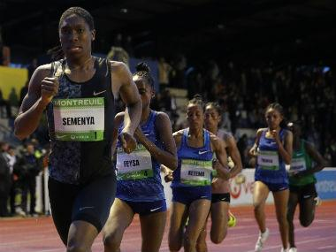 South African runner Caster Semenya wins 2,000m race in Paris amid ongoing battle with IAAF over testosterone rules