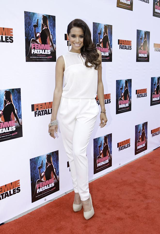 "Mirtha Mitchell attends Cinemax's New Series ""Femme Fatales"" - Cast & Crew Screening at ArcLight Hollywood on May 21, 2012 in Hollywood, California."