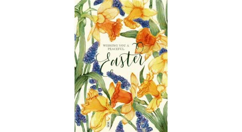 Standard Size Easter card