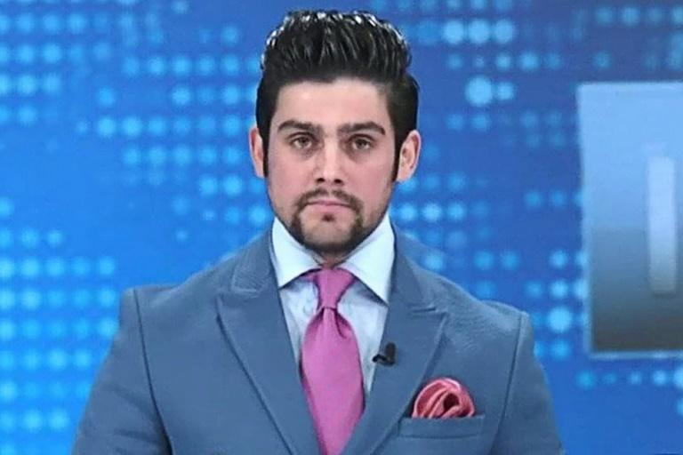 Former TV journalist Yama Siawash was known for his hard-hitting interview style