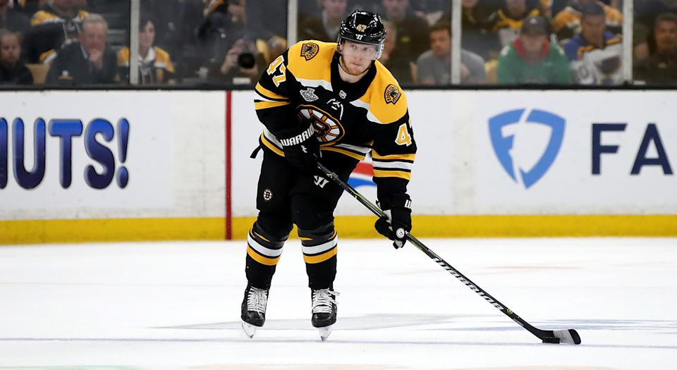 Krug would become an unrestricted free agent on July 1, 2020. (Getty)