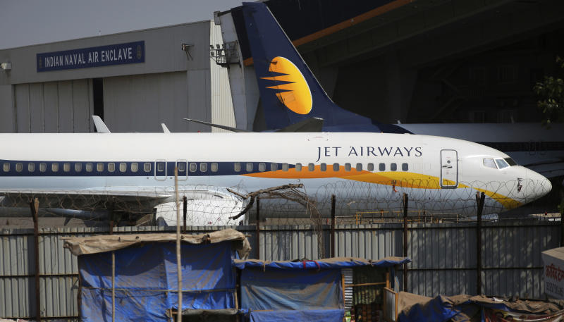 Jet Airways cancels ALL global  flights - chaos as furious passengers stranded