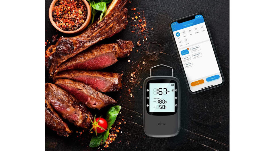Govee Bluetooth Digital Meat Thermometer (Photo: Amazon)