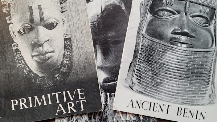 Programme covers from William Ohly's Primitive Art exhibitions in the late 1940s