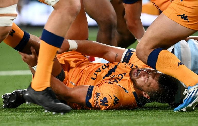 Pollard 'in hospital', Beale sent off, in Racing's win over Montpellier