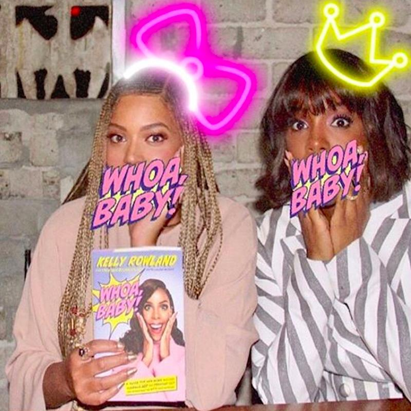 Beyoncé Had a Destiny's Child Reunion With Kelly and Michelle, and It Was Jumpin', Jumpin'