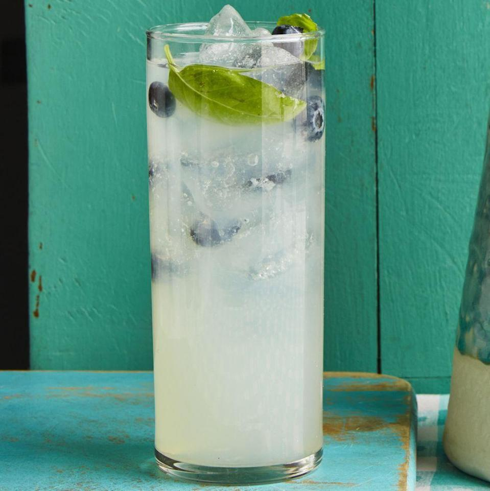 """<p>When it's warm out, Ree loves a cocktail that combines fruit and lemonade or limeade. This one is refreshing, pretty, and full of summery flavor. </p><p><a href=""""https://www.thepioneerwoman.com/food-cooking/recipes/a35949677/blueberry-basil-limeade-recipe/"""" rel=""""nofollow noopener"""" target=""""_blank"""" data-ylk=""""slk:Get the recipe."""" class=""""link rapid-noclick-resp""""><strong>Get the recipe. </strong></a></p><p><a class=""""link rapid-noclick-resp"""" href=""""https://go.redirectingat.com?id=74968X1596630&url=https%3A%2F%2Fwww.walmart.com%2Fsearch%2F%3Fquery%3Dpioneer%2Bwoman%2Bpitchers&sref=https%3A%2F%2Fwww.thepioneerwoman.com%2Ffood-cooking%2Fmeals-menus%2Fg36432840%2Ffourth-of-july-drinks%2F"""" rel=""""nofollow noopener"""" target=""""_blank"""" data-ylk=""""slk:SHOP PITCHERS"""">SHOP PITCHERS</a></p>"""