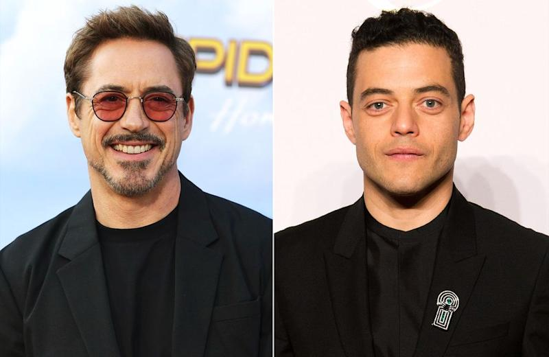 Robert Downey Jr. and Rami Malek | Matt Baron/REX/Shutterstock; Dominique Maitre/WWD/REX/Shutterstock