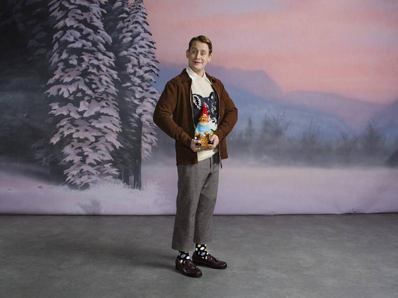 Macaulay Culkin fronts holiday campaign for Happy Socks