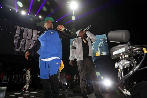 PHOTO: Styles P and Jadakiss of The Lox perform at D'usse Palooza at Barclays Center, Dec. 13, 2019, in New York City. (Johnny Nunez/WireImage/Getty Images, FILE)